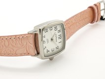 WATCH LADY AND GIRL COMMUNION POTENS STEEL AND LEATHER 40-2553-0-3