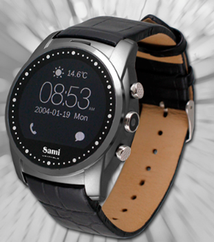 RELÓGIO SMART WATCH SAMI ROUND WS-2306NGN
