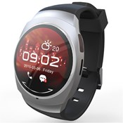 RELOJ SMARTWATCH UWATCH UO UO_PLATA Smart Watch
