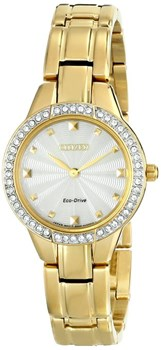SRA WATCH ECO-DRIVE EX1362-54P GOLD PLATED Citizen