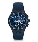 MONTRE SUSB417 BLEU COMMISSAIRE CHRONO SWATCH SUSB417 BLUE STEWARD