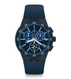 MONTRE SUSB417 BLEU COMMISSAIRE CHRONO SWATCH SUSB417 BLUE STEWARD