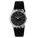 SWATCH WATCH BLACK CLASSINESS SFK361