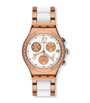 MONTRE SWATCH DREAMWHITE ROSE YCG406G