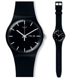 SWATCH WATCH MONO BLACK UNISEX