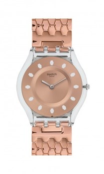 SWATCH SKIN RED FORT SFE100GA WATCH