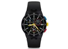 SWATCH WATCH SUSB416 BLACK-ONE CHRONO