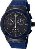 SWATCH WATCH SUSB418 X-DISTRICT BLUE QUARTZ