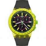 SWATCH WATCH SUSJ402 YEL-LOL CHRONO