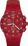 SWATCH WATCH SUSR404 NETWORK STEP CHRONO SUSR404 RED STEP