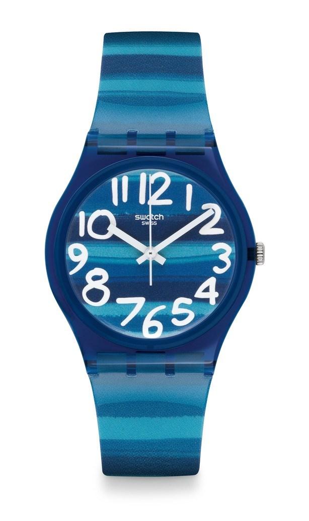Reloj swatch linajola azul versace
