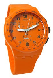 Montre Swatch Orange sauvage