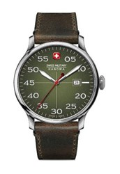 Reloj Swiss Military aviador verde 6432604006