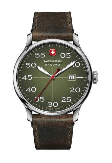 Reloj Swiss Military aviador verde 6432604006
