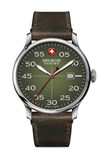 MONTRE MILITAIRE SUISSE AVIATOR VERT Swiss Military 6432604006