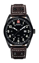 Reloj Swiss Military negro marrón 641811300705