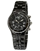 TECHNOMARINE CHRONO BLACK CERAMIC WATCH TLCCB02C