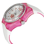 WATCH TECNOMARINE CASE PINK STRAP RUBBER WHITE 42MM 113022 TECHNOMARINE