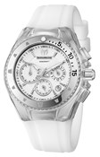WATCH TECNOMARINE WHITE RUBBER 38 MM 111001 TECHNOMARINE