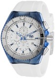 WATCH TECNOMARINE RUBBER UNISEX CHRONO 45 MM 113007 TECHNOMARINE