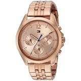 WATCH TOMMY HILFIGER STEEL BATHROOM ROSE GOLD MULTIFUNCTION 1781700