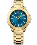 WATCH TOMMY HILFIGER LADY STEEL PLATED GOLD 1781433