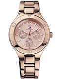 WATCH TOMMY HILFIGER LADY STEEL PINK GOLD-PLATED 1781333