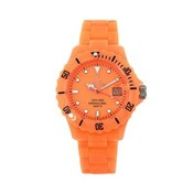 TOY WATCH FLUO MONTRE DISQUE SEULEMENT TEMPS CADRAN ORANGE FLD06OR