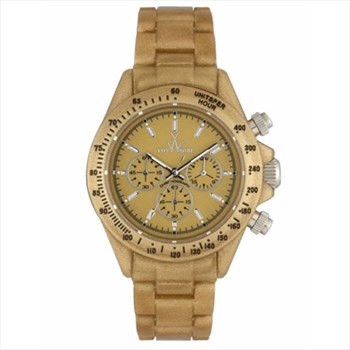 TOY WATCH METAL GOLD PEARLY CHRONO FLP14MG WATCH