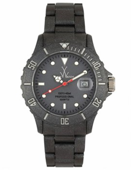 RELOJ TOY WATCH PRARLY BLACK FLUO TIME ONLY FLP03BK