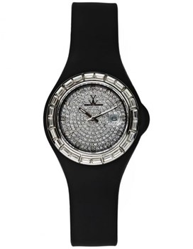RELOJ TOY WATCH SMALL JELLY ONLY TIME TRES CHIC JY14BK