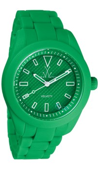 MONTRE TOY WATCH VELOUTÉ VERT W12GR