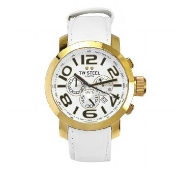 TW STEEL GRANDEUR YELLOW PVD TW55 45MM WATCH