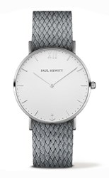 Reloj unisex Paul Hewitt gris 11228 PH-SA-S-St-W-18M