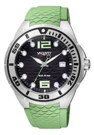 VAGARY WATCH STEEL BRACELET SILICONE ID9-744-52