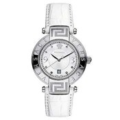 WATCH VERSACE WOMAN S WHITE - STEEL