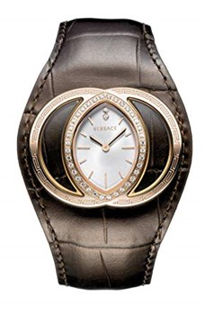 WATCH VERSACE WOMAN\'S LEATHER STRAP
