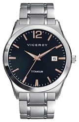 Montre titane de vicaroy chevalier submersible 47723-55 Viceroy