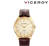 WATCH VICEROY STAINLESS STEEL WITH BA�OR GOLD AND SAPPHIRE CRYSTAL 471127-95