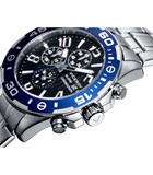 WATCH VICEROY STEEL CHRONOGRAPH WITH ALARM 40419-55