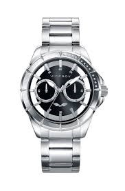 MONTRE DE VICEROY MENS EN ACIER MULTIFUNCION 401053-57