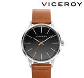 WATCH VICEROY MENS BELT LEATHER 42279-27