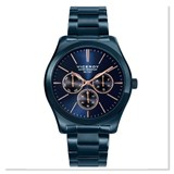 WATCH VICEROY MEN IN BLUE TONES WITH DETAILS IN COPPER 40517-37