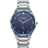 WATCH VICEROY MENS SOLAR STEEL 471189-37
