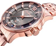 WATCH VICEROY WOMEN STEEL BATHROOM ROSE GOLD 42252-45