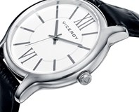 WATCH VICEROY WOMAN 40780-03 LEATHER STRAP STEEL