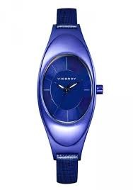 Watch viceroy Lady blue aluminum 47702-37