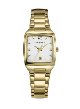Viceroy Lady 47682-95 or plaqué montre