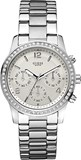 WATCH STEEL BEZEL SWAROSKY W14537L1 GUESS LADY