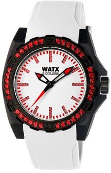Reloj Watx & Colors mujer caucho blanco RWA1884